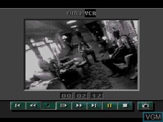 In-game screen of the game The Colors of Modern Rock on Sega Mega CD