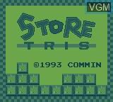 Menu screen of the game Commin 5 in 1 on Videojet Mega Duck
