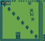 In-game screen of the game Magic Maze on Videojet Mega Duck