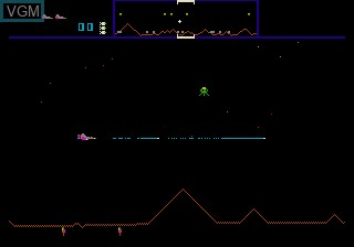 Menu screen of the game Williams Arcade's Greatest Hits on Sega Megadrive