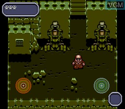 In-game screen of the game Addams Family Values on Sega Megadrive