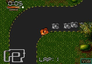 In-game screen of the game Double Clutch on Sega Megadrive
