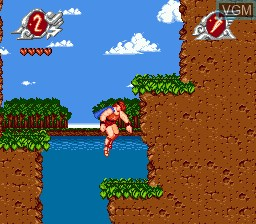 In-game screen of the game Hercules 2 on Sega Megadrive