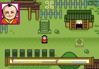 In-game screen of the game Aq Renkan Awa on Sega Megadrive