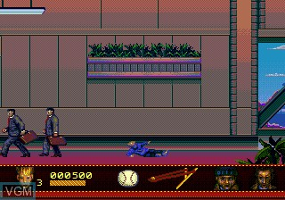 In-game screen of the game Home Alone 2 - Lost in New York on Sega Megadrive