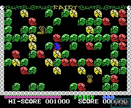 In-game screen of the game Fairy on MSX