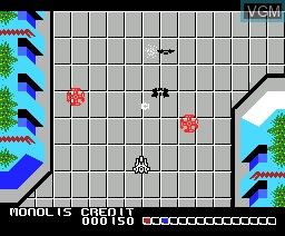 In-game screen of the game Anaza - Kaleidoscope Special on MSX