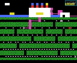 In-game screen of the game Oil's Well on MSX