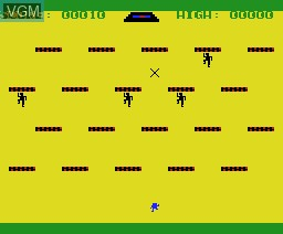 In-game screen of the game Pillbox on MSX