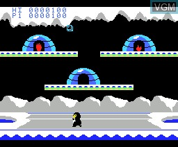 In-game screen of the game Tatica on MSX