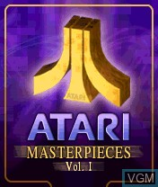 Title screen of the game Atari Masterpieces Vol. I on Nokia N-Gage