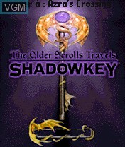 Title screen of the game Elder Scrolls Travels, The - Shadowkey on Nokia N-Gage