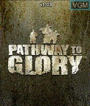 Title screen of the game Pathway to Glory on Nokia N-Gage