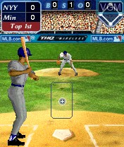 In-game screen of the game MLB Slam! on Nokia N-Gage