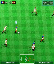 In-game screen of the game Marcel Desailly Pro Soccer on Nokia N-Gage