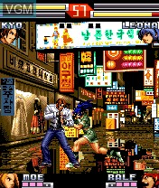 In-game screen of the game King of Fighters Extreme, The on Nokia N-Gage