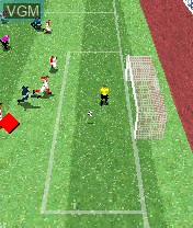 In-game screen of the game FIFA Football 2004 on Nokia N-Gage