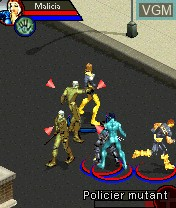 In-game screen of the game X-Men Legends on Nokia N-Gage