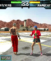 In-game screen of the game One on Nokia N-Gage