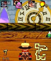 In-game screen of the game Crash Nitro Kart on Nokia N-Gage