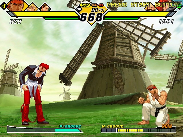 Capcom Vs. SNK 2 - Millionaire Fighting 2001