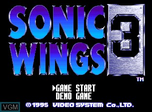 Sonic Wings 3 For Snk Neogeo Cd The Video Games Museum