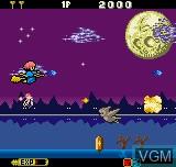Menu screen of the game Cotton - Fantastic Night Dreams on SNK NeoGeo Pocket