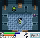 In-game screen of the game Dark Arms - Beast Buster 1999 on SNK NeoGeo Pocket