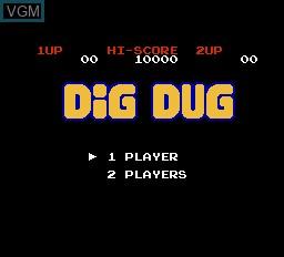 Menu screen of the game Reset Based 4-in-1 on Nintendo NES