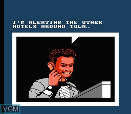 Menu screen of the game Home Alone 2 - Lost in New York on Nintendo NES