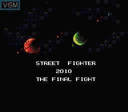 Street Fighter 2010 The Final Fight For Nintendo Nes The Video