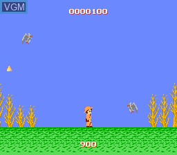 In-game screen of the game Atlantis no Nazo on Nintendo NES