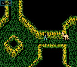 In-game screen of the game Dragon Buster II - Yami no Fuuin on Nintendo NES