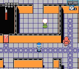 In-game screen of the game Paaman Part 2 - Himitsu Kessha Madoodan wo Taose! on Nintendo NES