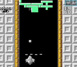 In-game screen of the game Quarth on Nintendo NES