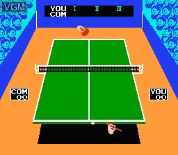 In-game screen of the game 11-in-1 Ball Games on Nintendo NES
