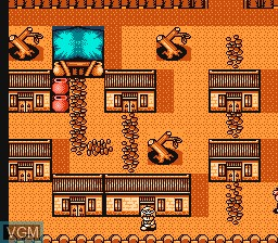 In-game screen of the game Da Hua Xi You on Nintendo NES