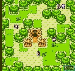 In-game screen of the game Final Fantasy V on Nintendo NES