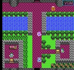In-game screen of the game Yong Zhe Dou E Long - Dragon Quest V on Nintendo NES