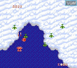 In-game screen of the game 1943 - The Battle of Midway on Nintendo NES