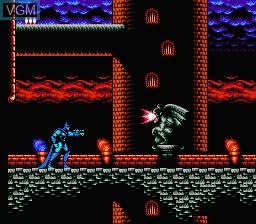 In-game screen of the game Batman - Return of the Joker on Nintendo NES