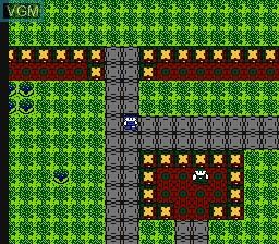 In-game screen of the game Hoshi wo Miru Hito on Nintendo NES
