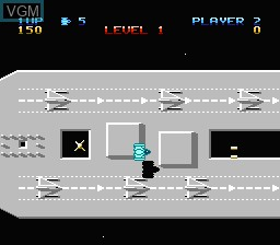 In-game screen of the game Last Starfighter, The on Nintendo NES
