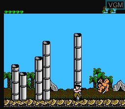 In-game screen of the game Operation Secret Storm on Nintendo NES