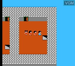 In-game screen of the game Rasaaru Ishii no Childs Quest on Nintendo NES