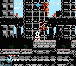 In-game screen of the game Ultraman Club - Kaijuu Dai Kessen!! on Nintendo NES