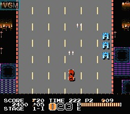 In-game screen of the game Vice - Project Doom on Nintendo NES