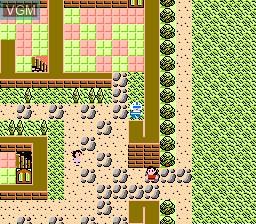 In-game screen of the game Zoids 2 - Zenebas no Gyakushuu on Nintendo NES