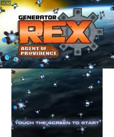 Generator Rex - Agent of Providence for Nintendo 3DS - The
