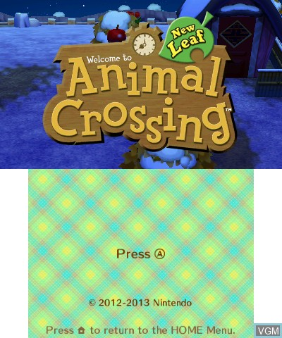 Animal Crossing - New Leaf for Nintendo 3DS - The Video
